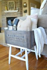 Creative Farmhouse Style Side Table Design Made From Scrap And Reclaimed Materials (33)