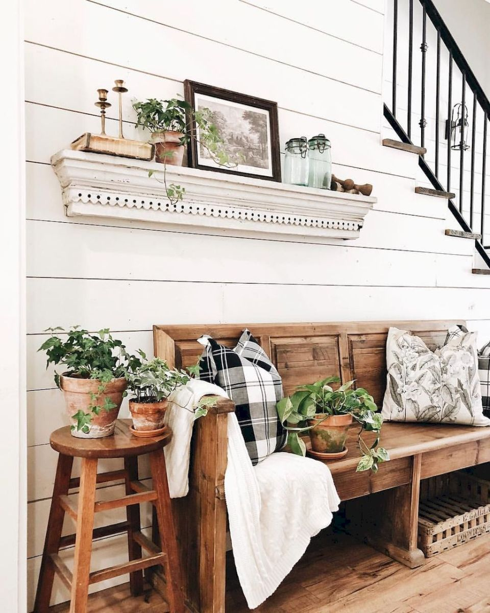 Creative Farmhouse Style Side Table Design Made From Scrap And Reclaimed Materials (35)