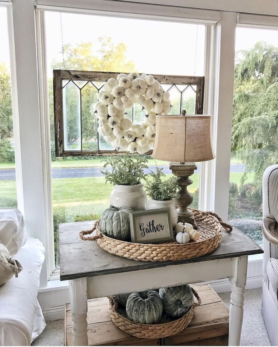 Creative Farmhouse Style Side Table Design Made From Scrap And Reclaimed Materials (40)