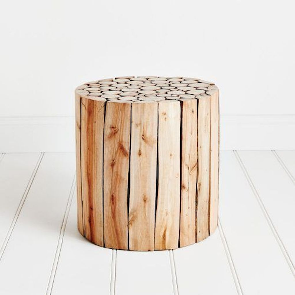 Creative Farmhouse Style Side Table Design Made From Scrap And Reclaimed Materials (48)