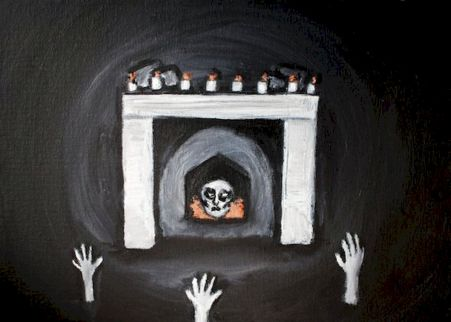 Creepy Halloween Wall Arts and Printables Part 27