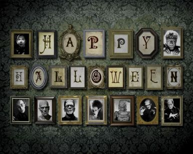 Creepy Halloween Wall Arts and Printables Part 32