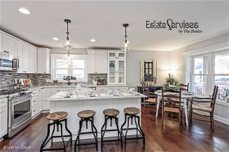 Dual purpose kitchen island that will really safe your space and extra budget as well (10)