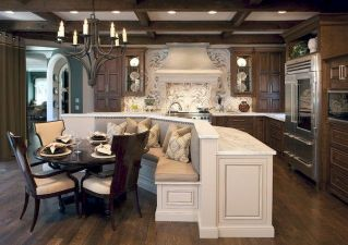 Dual purpose kitchen island that will really safe your space and extra budget as well (15)