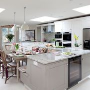 Dual purpose kitchen island that will really safe your space and extra budget as well (29)