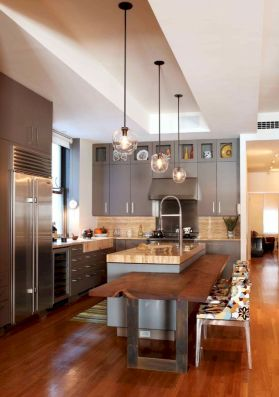 Dual purpose kitchen island that will really safe your space and extra budget as well (5)