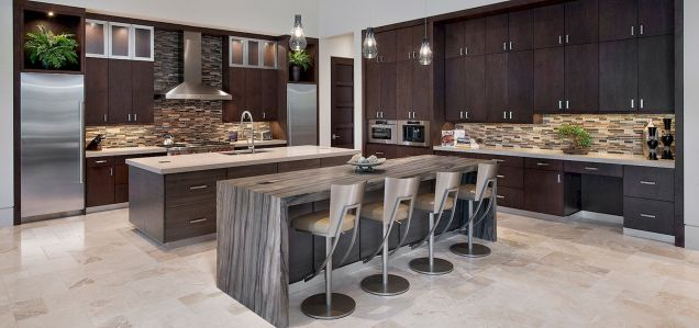 Dual purpose kitchen island that will really safe your space and extra budget as well (6)