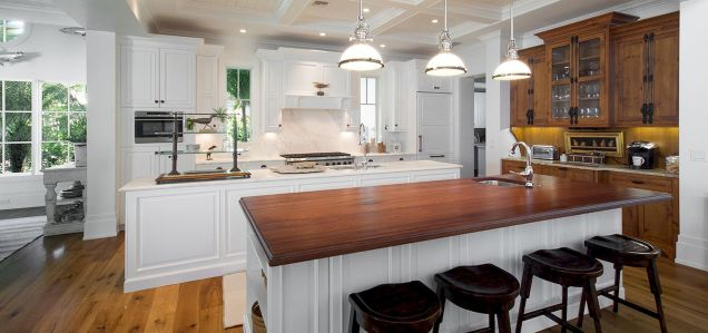 Dual purpose kitchen island that will really safe your space and extra budget as well (8)