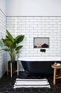 Easy Bathroom Makeover Inspirations with Cheap Decoration and Accessories Part 24