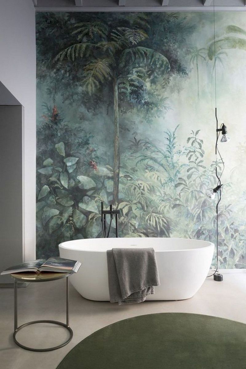 Easy Bathroom Makeover Inspirations with Cheap Decoration and Accessories Part 31