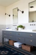 Easy Bathroom Makeover Inspirations with Cheap Decoration and Accessories Part 34
