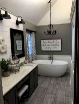 Easy Bathroom Makeover Inspirations with Cheap Decoration and Accessories Part 50