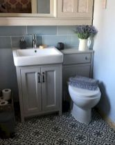 Easy Bathroom Makeover Inspirations with Cheap Decoration and Accessories Part 54
