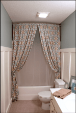 Easy Bathroom Makeover Inspirations with Cheap Decoration and Accessories Part 56