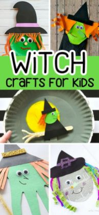 Easy Halloween Crafts and DIY halloween decoration for kids and toddler Part 18