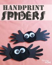 Easy Halloween Crafts and DIY halloween decoration for kids and toddler Part 47