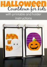 Easy Halloween Crafts and DIY halloween decoration for kids and toddler Part 52