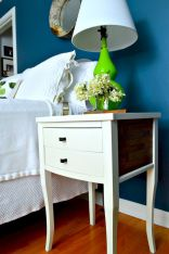 Easy tricks for Nightstand makeover ideas that will makeup the bedroom design Part 20