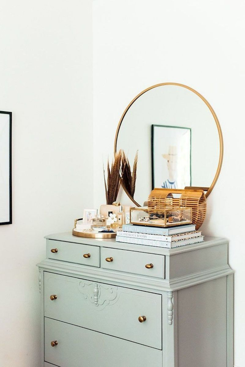 Easy tricks for Nightstand makeover ideas that will makeup the bedroom design Part 22