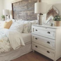 Easy tricks for Nightstand makeover ideas that will makeup the bedroom design Part 34