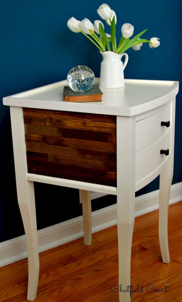 Easy tricks for Nightstand makeover ideas that will makeup the bedroom design Part 37