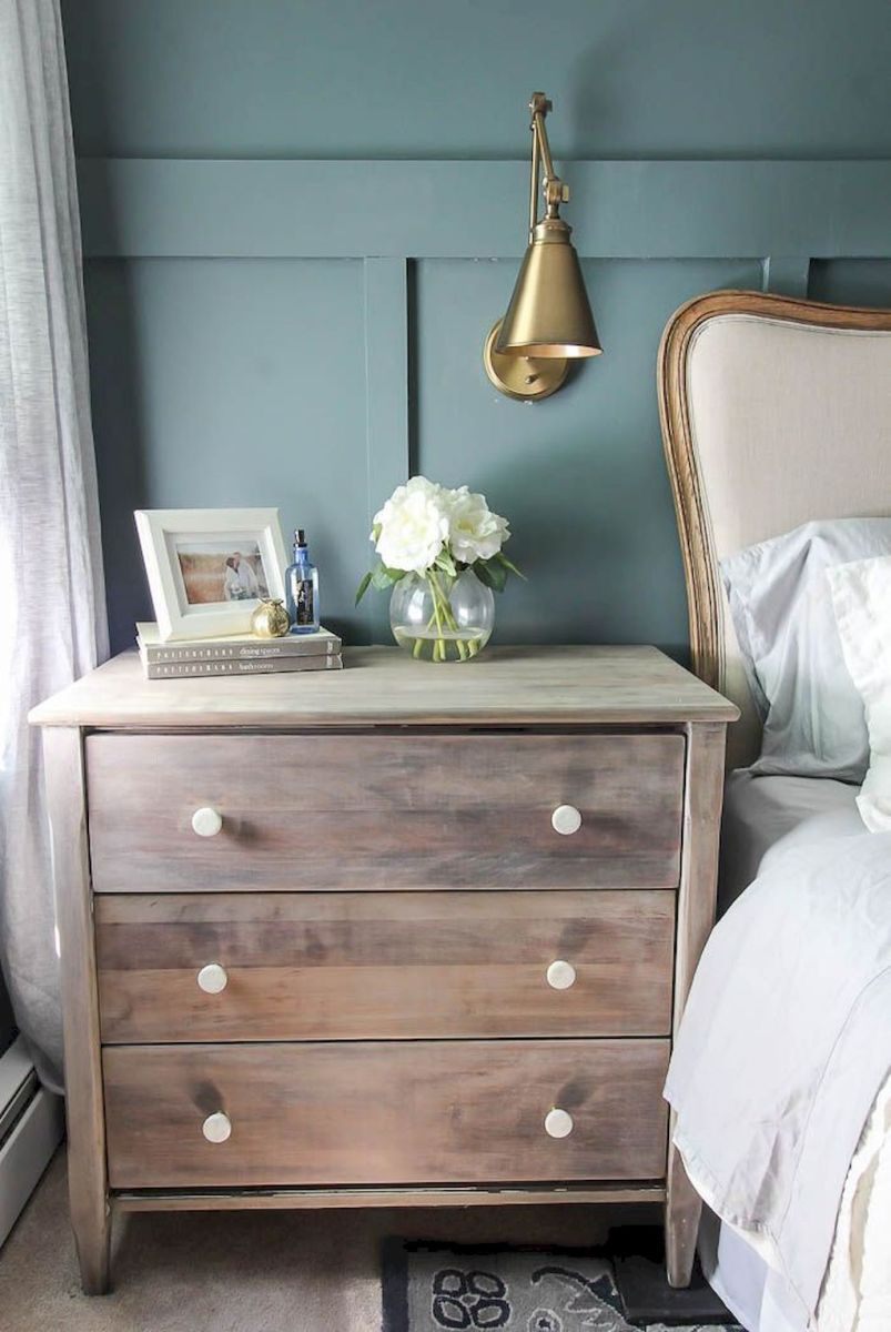 Easy tricks for Nightstand makeover ideas that will makeup the bedroom design Part 39