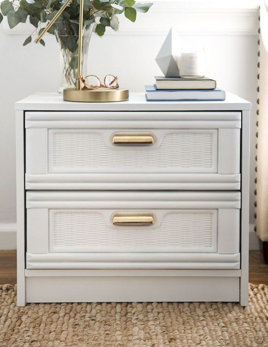 Easy tricks for Nightstand makeover ideas that will makeup the bedroom design Part 42