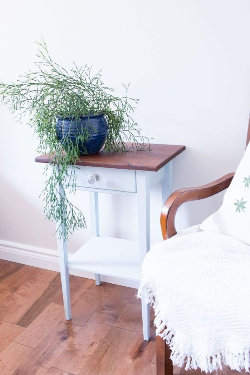 Easy tricks for Nightstand makeover ideas that will makeup the bedroom design Part 44