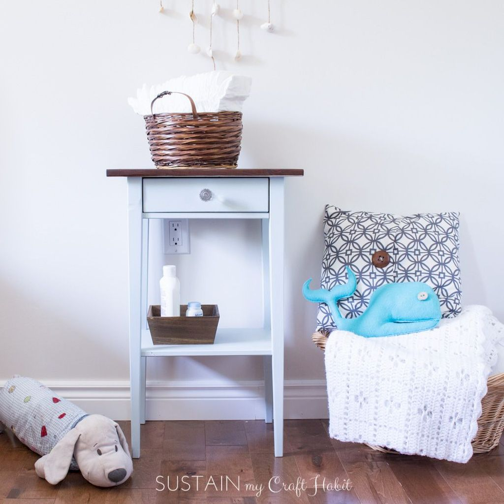 Easy tricks for Nightstand makeover ideas that will makeup the bedroom design Part 46