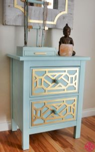 Easy tricks for Nightstand makeover ideas that will makeup the bedroom design Part 47