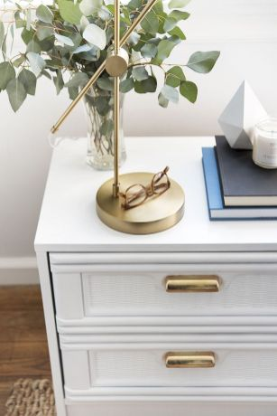 Easy tricks for Nightstand makeover ideas that will makeup the bedroom design Part 53