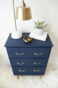 Easy tricks for Nightstand makeover ideas that will makeup the bedroom design Part 57