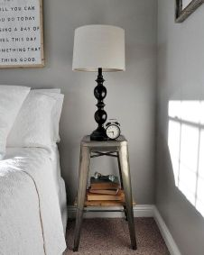 Easy tricks for Nightstand makeover ideas that will makeup the bedroom design Part 61