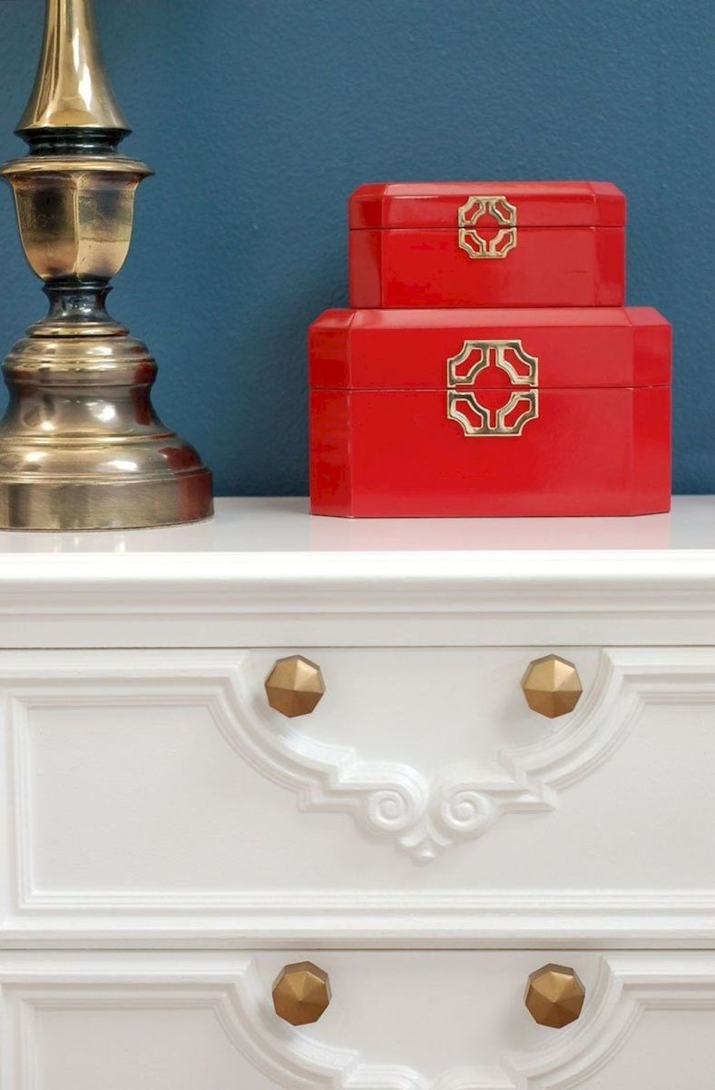 Easy tricks for Nightstand makeover ideas that will makeup the bedroom design Part 64