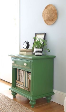 Easy tricks for Nightstand makeover ideas that will makeup the bedroom design Part 67
