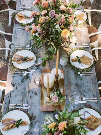 Fall wedding decoration idea with inspiring autumn decoration and fall flowers design Part 26