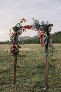 Fall wedding decoration idea with inspiring autumn decoration and fall flowers design Part 46