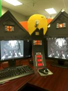 Inspiring Decoration Ideas of Halloween Cubical Office (29)