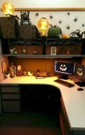 Inspiring Decoration Ideas of Halloween Cubical Office (50)