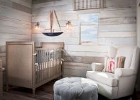 Modern Baby Nursery Rooms Ideas with Simple and Colorful Concepts with Pattern and Unique Baby Crib Design Part 10