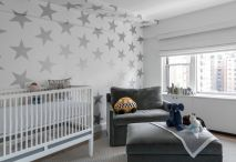Modern Baby Nursery Rooms Ideas with Simple and Colorful Concepts with Pattern and Unique Baby Crib Design Part 24