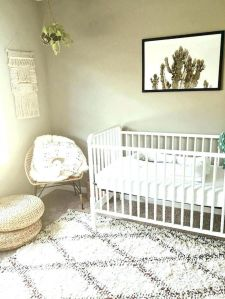 Modern Baby Nursery Rooms Ideas with Simple and Colorful Concepts with Pattern and Unique Baby Crib Design Part 42