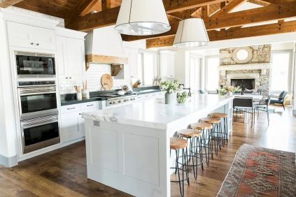 Modern Farmhouse Kitchens Inspirations Part 52