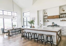Modern Farmhouse Kitchens Inspirations Part 62