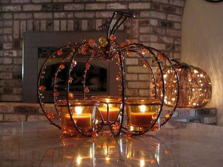 Mystical Halloween Lighting Ideas with Spellbinding candle and light string effect Part 21