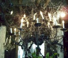 Mystical Halloween Lighting Ideas with Spellbinding candle and light string effect Part 3