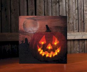 Mystical Halloween Lighting Ideas with Spellbinding candle and light string effect Part 42