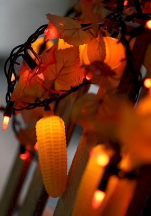Mystical Halloween Lighting Ideas with Spellbinding candle and light string effect Part 51