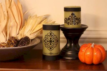 Mystical Halloween Lighting Ideas with Spellbinding candle and light string effect Part 52
