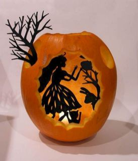 Mystical Halloween Lighting Ideas with Spellbinding candle and light string effect Part 61